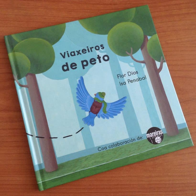 Álbum ilustrado Viaxeiros de Peto -1