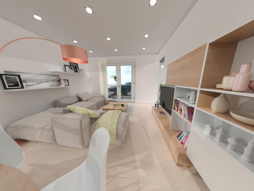Tour virtual 360º apartamentos Zatarain 5