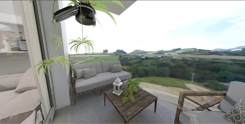 Tour virtual 360º apartamentos Zatarain 7
