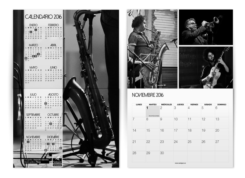 Calendario 2016 SEDAJAZZ -1