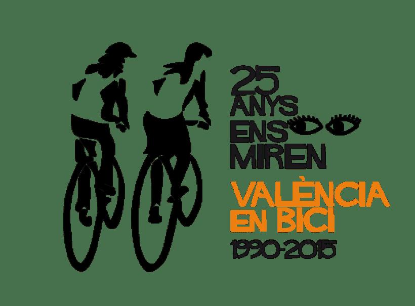Imatge Aniversari 25 anys València en Bici 0
