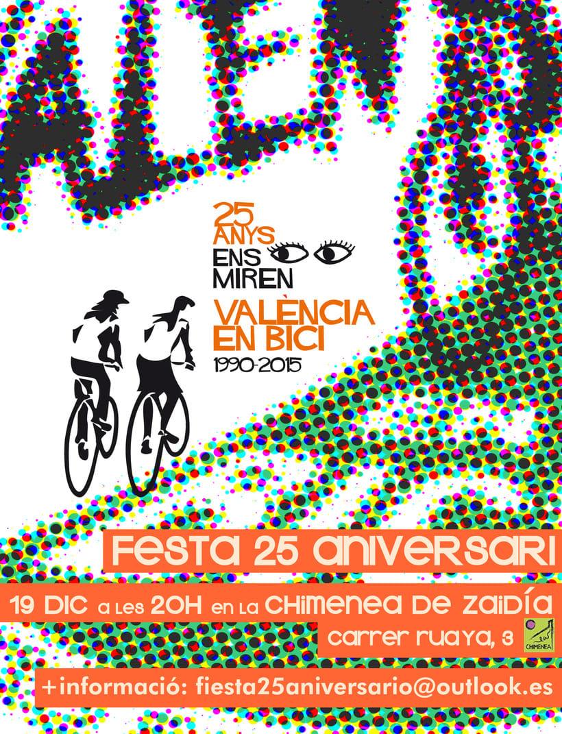 Imatge Aniversari 25 anys València en Bici 1