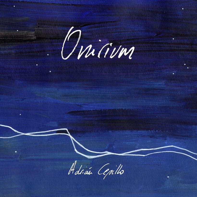 """Portada y libreto proyecto musical """"Onirium"""" 0"""