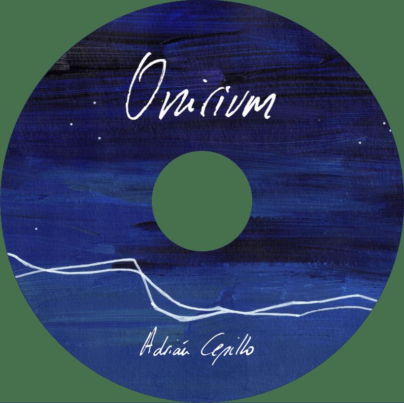 """Portada y libreto proyecto musical """"Onirium"""" 1"""