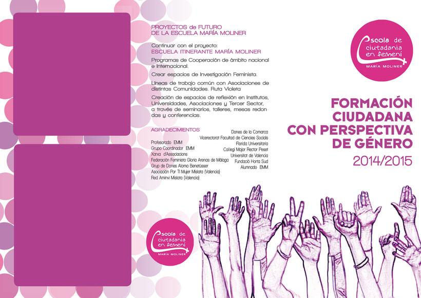 Identidad Escola Maria Moliner de València 1