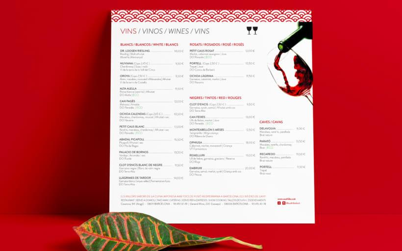 Diseño carta restaurante -1