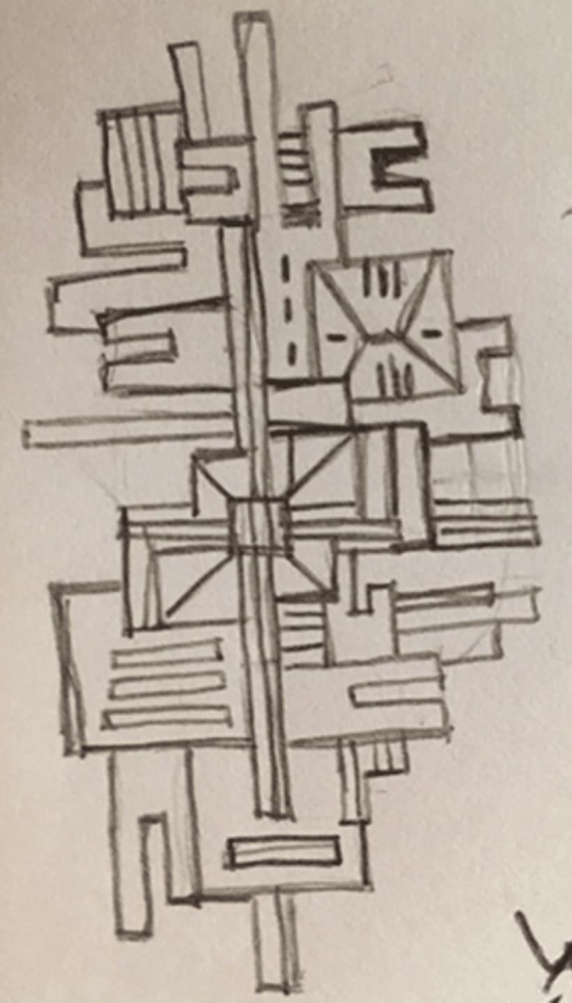 Estampado geométrico -1