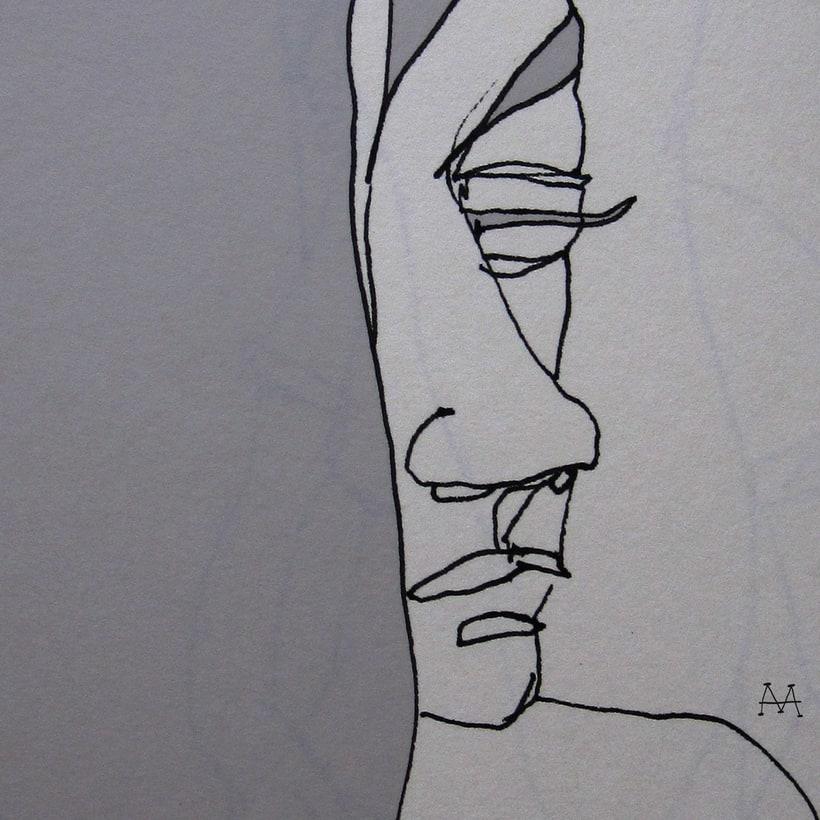 Dibujos / Técnica mixta en distintos soportes. 3