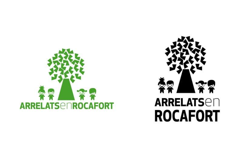 Identidad visual Arrelats en Rocafort 0
