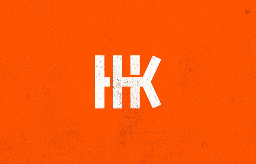 Mi Proyecto del curso: Diseño de monogramas con estilo KAME HAUSU 1