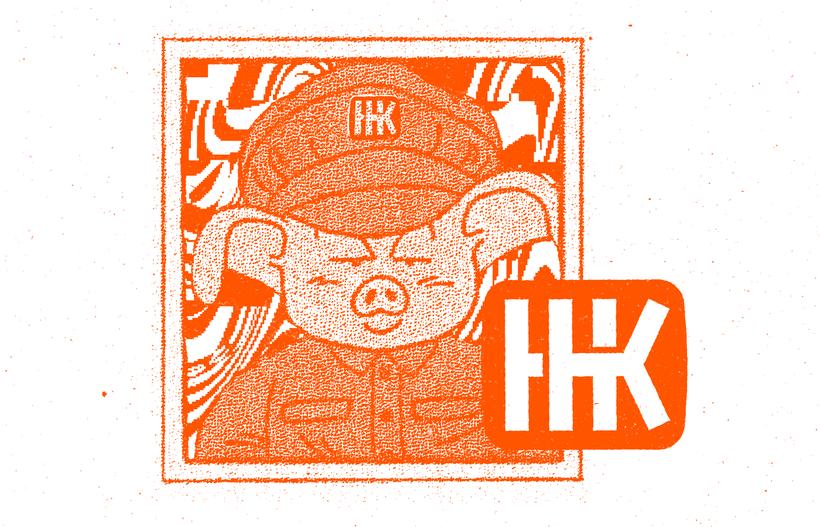 Mi Proyecto del curso: Diseño de monogramas con estilo KAME HAUSU 2