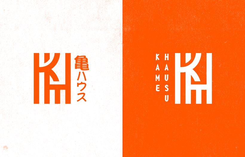 Mi Proyecto del curso: Diseño de monogramas con estilo KAME HAUSU 3