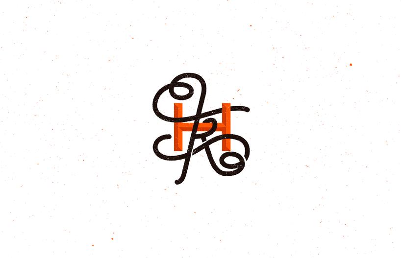 Mi Proyecto del curso: Diseño de monogramas con estilo KAME HAUSU 12