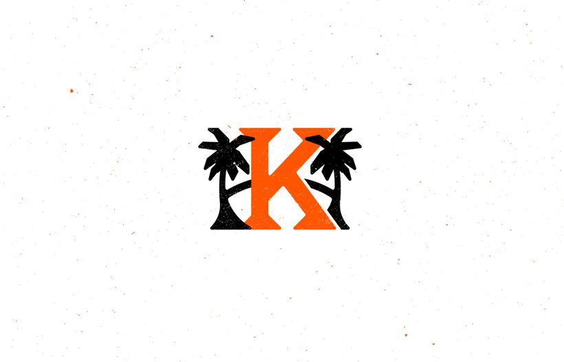 Mi Proyecto del curso: Diseño de monogramas con estilo KAME HAUSU 14