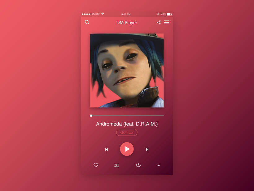 Music Player UI  6