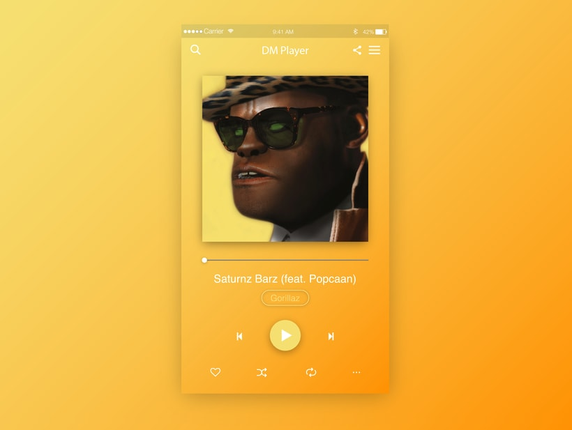 Music Player UI  7