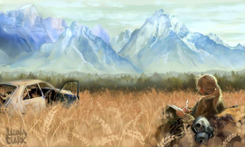 Skyland. concept art para un videojuego -1