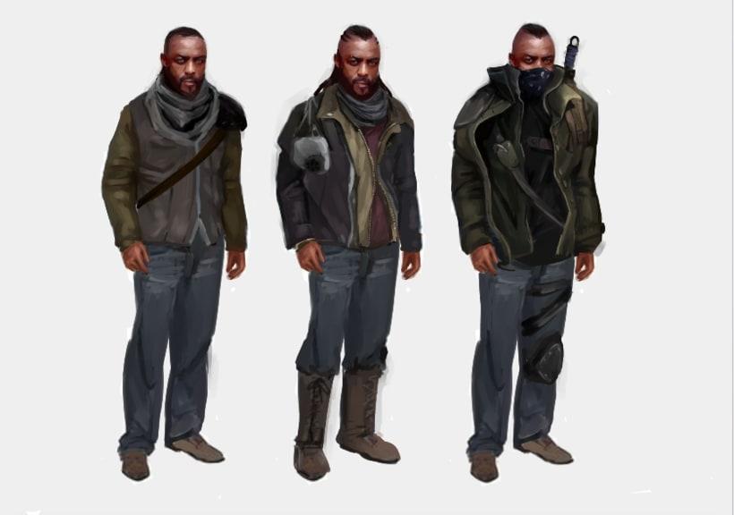 Skyland. concept art para un videojuego 3