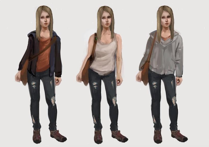 Skyland. concept art para un videojuego 4