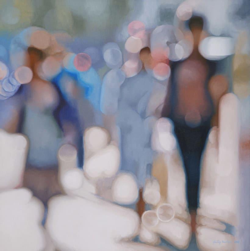 Pintando la realidad de un miope 6