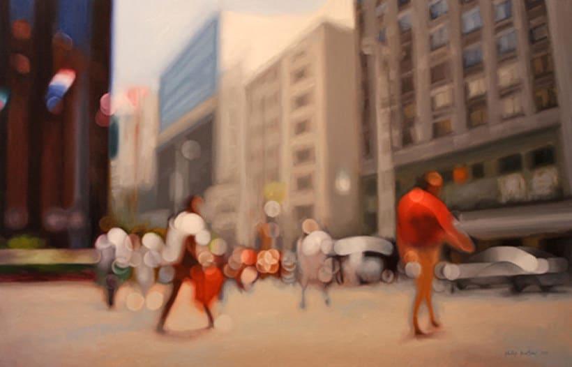 Pintando la realidad de un miope 7