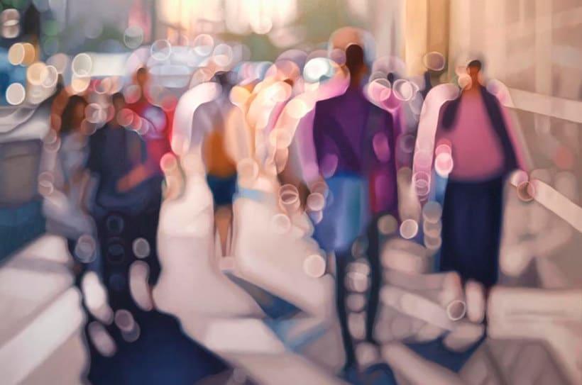 Pintando la realidad de un miope 12