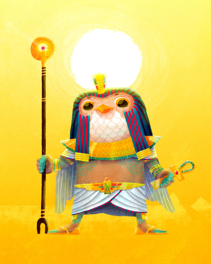 Character Design Challenge - Egipto 1