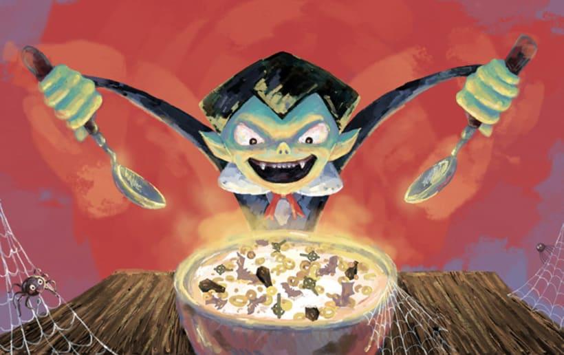 DRACULINES. Unos cereales de miedo. 1