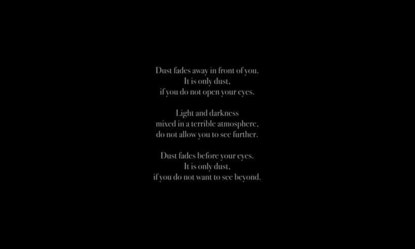 'Dust': un poema visual de Helio Vega sobre los conflictos 5
