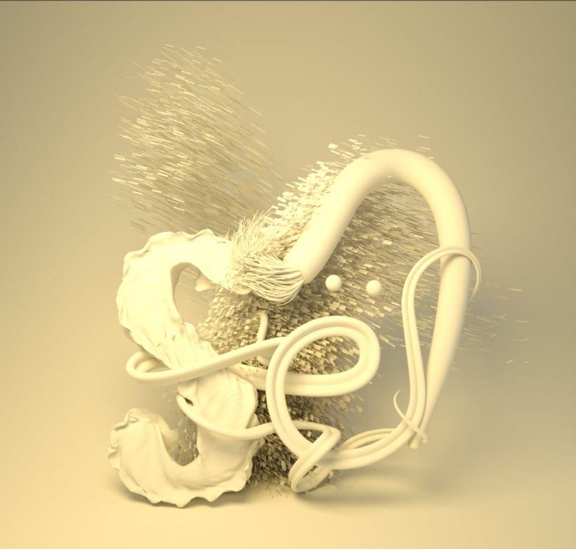 Lettering 3D: modelado y texturizado con Cinema 4D 1