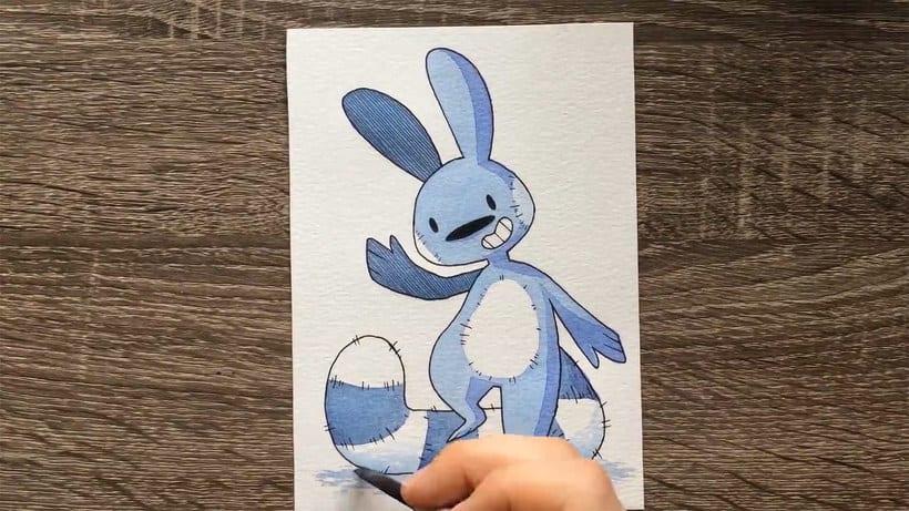 ¿Cuál es la ilustración más pequeña que has dibujado? 5