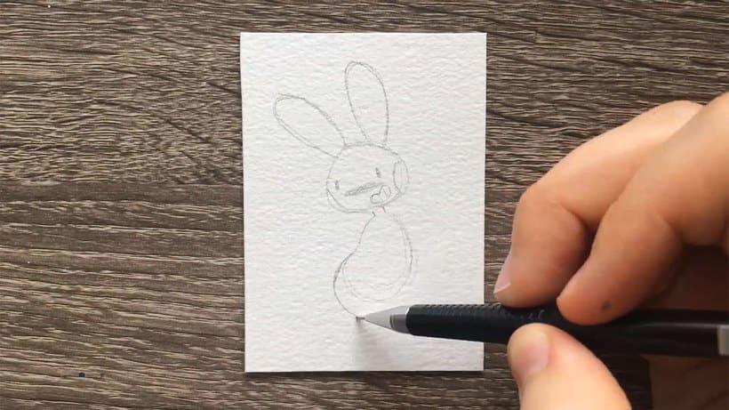 ¿Cuál es la ilustración más pequeña que has dibujado? 6