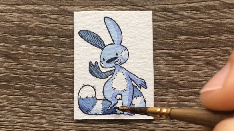 ¿Cuál es la ilustración más pequeña que has dibujado? 7
