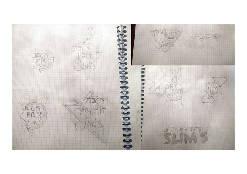 Mi Proyecto del curso: Tipografía y Branding: Diseño de un logotipo icónico Jack Rabbit Slim's 1
