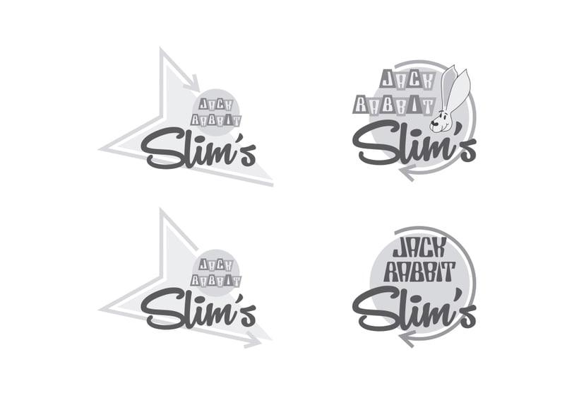 Mi Proyecto del curso: Tipografía y Branding: Diseño de un logotipo icónico Jack Rabbit Slim's 2