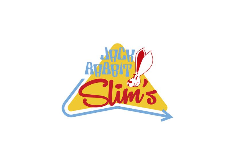 Mi Proyecto del curso: Tipografía y Branding: Diseño de un logotipo icónico Jack Rabbit Slim's 4