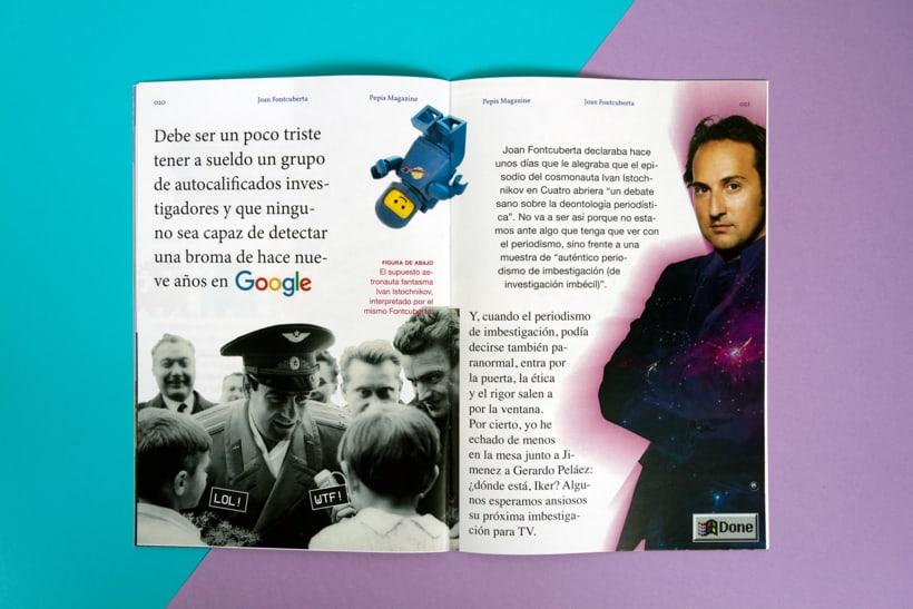 PEPIS magazine (Fanzine) 8
