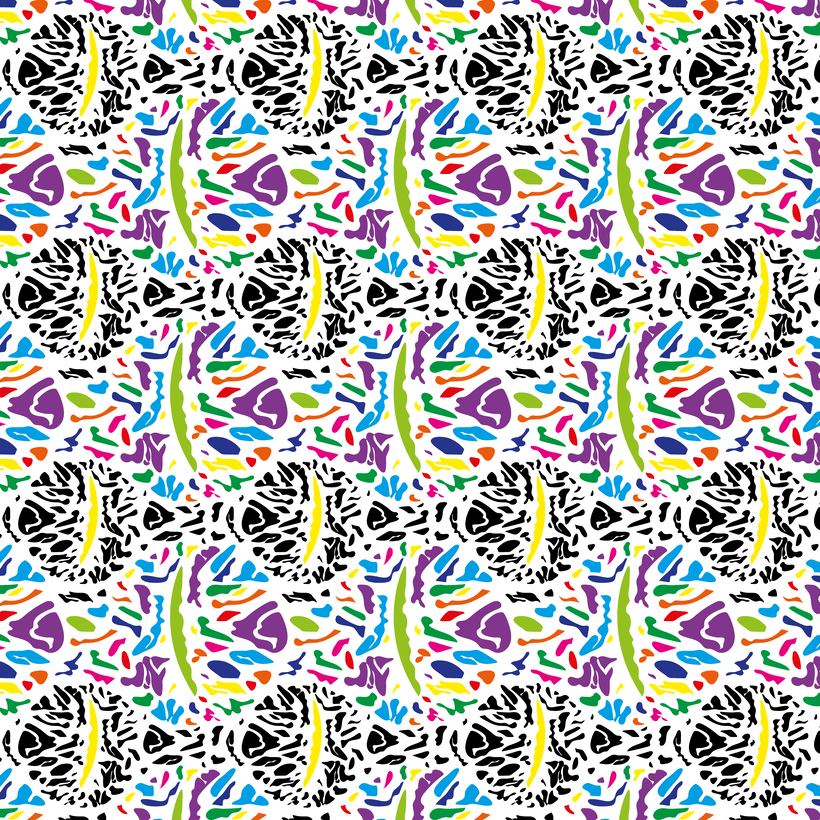 Abstract eye pattern 0