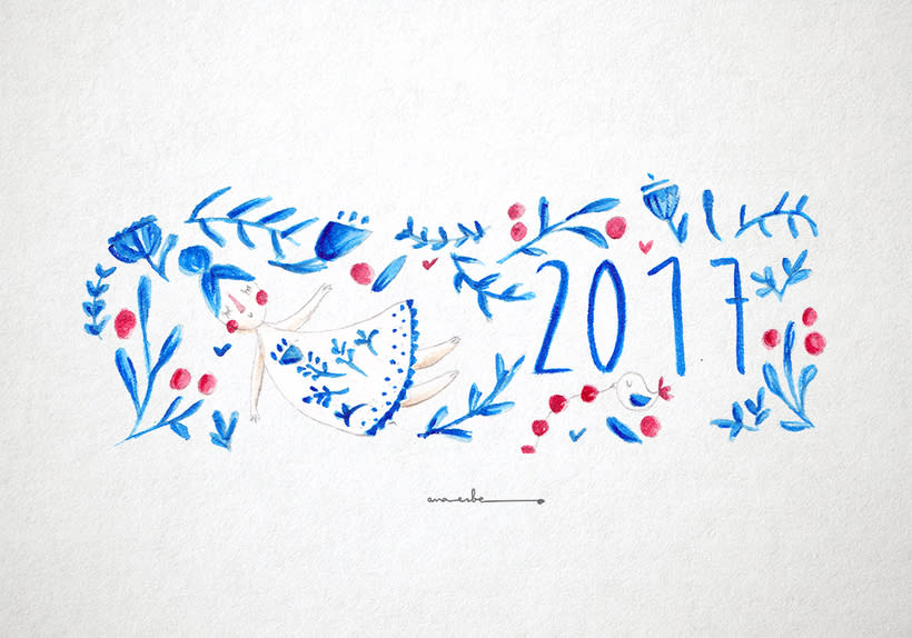 New year_Project - watercolor - 1