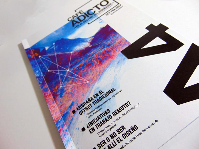 A4 Café adicto [Magazine] -1