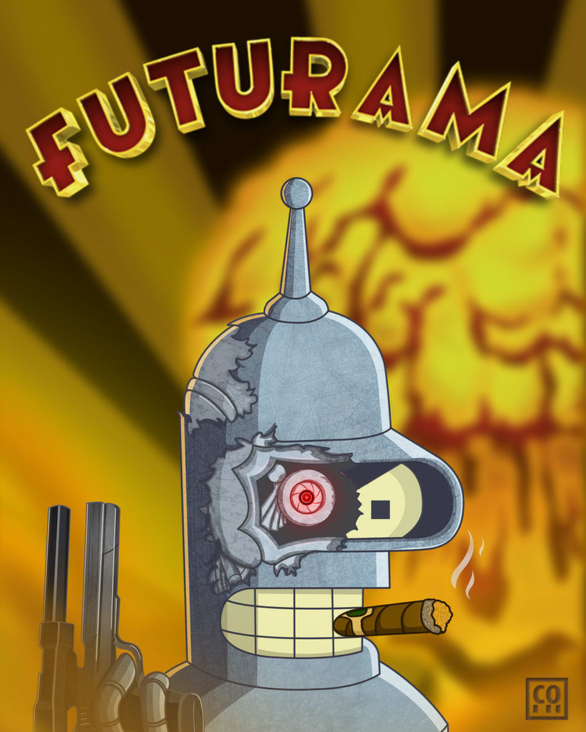 Fan - Art Futurama  -1