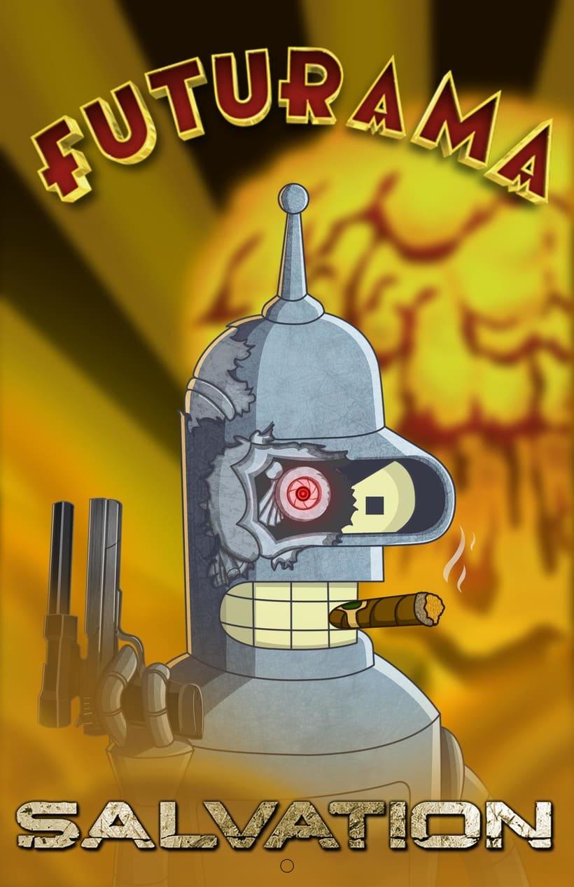 Fan - Art Futurama  1