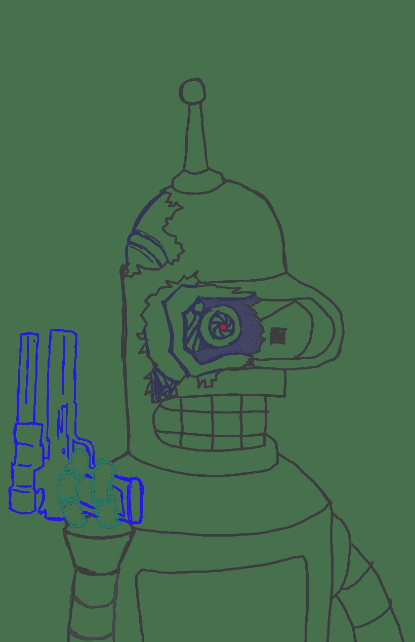 Fan - Art Futurama  2