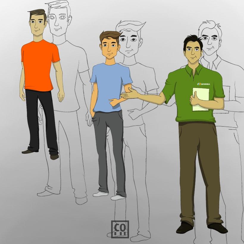 Illustraciones para video-script -1