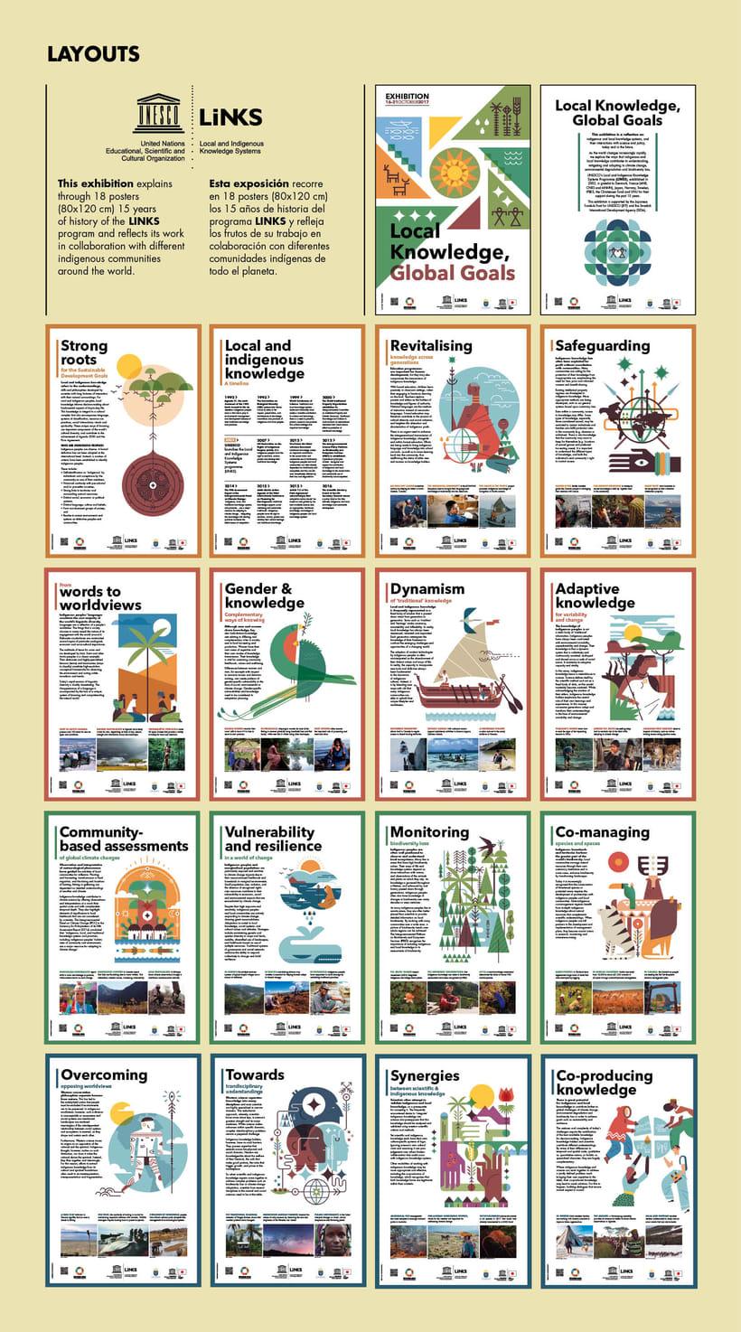 UNESCO 18 posters ilustrados EXPOSICIÓN ITINERANTE 8