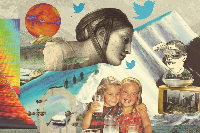 Evercom. Collage evolución redes sociales. 2