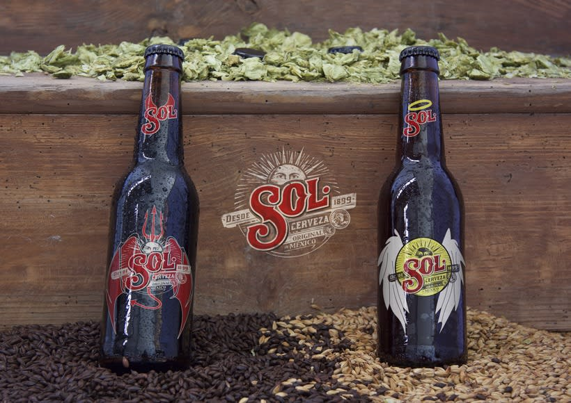Packaging cerveza SOL -1