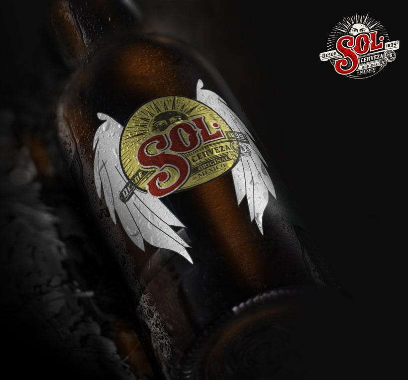 Packaging cerveza SOL 0