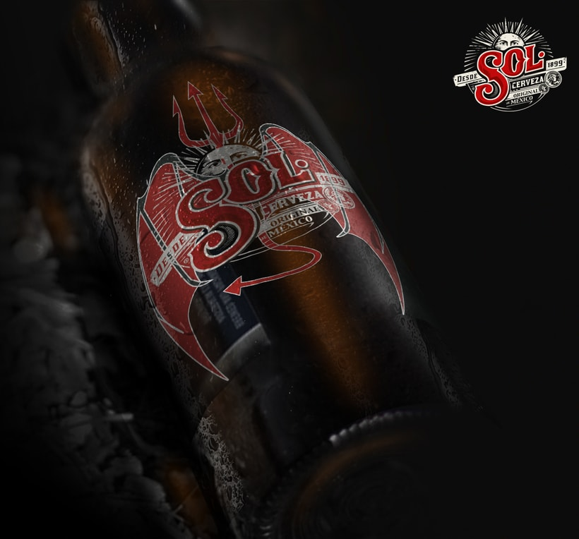Packaging cerveza SOL 1