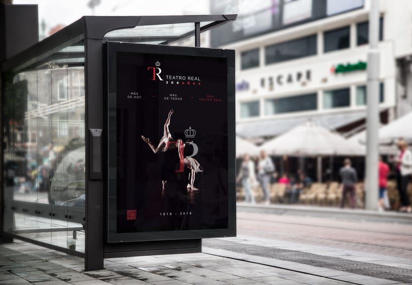 Cartel 200 años Teatro Real 0